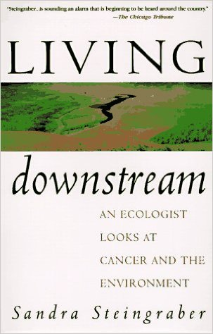 BOOK JACKET: Living Downstream