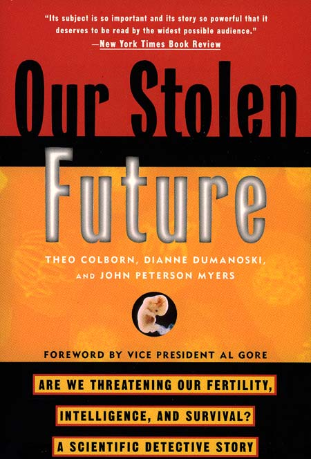 BOOK JACKET: Our Stolen Future