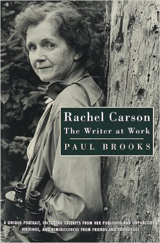 BOOK JACKET: Rachel Carson: The Writer at Work