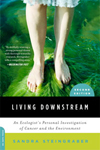 BOOK JACKET:Living Downstream