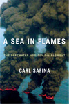 BOOK JACKET:A Sea in Flames