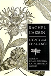 BOOK JACKET:Rachel Carson: Legacy and Challenge (S U N Y Series in Environmental Philosophy and Ethics)